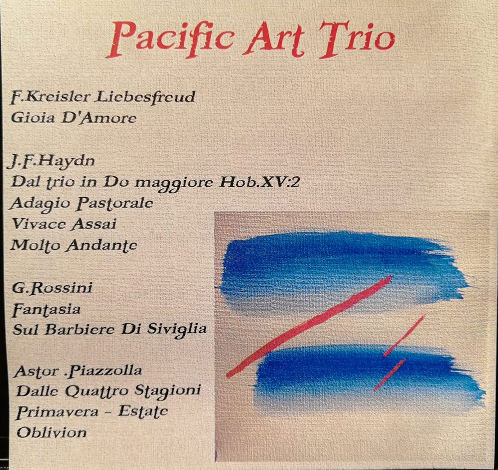 Trio Pacific Art in concert