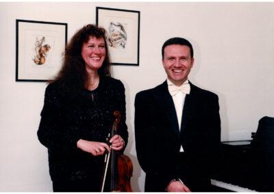 Danilo Manto con Susanne Boehm